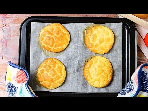 Keto Egg Bread Recipe - Aka Low-Carb Cloud Bread or Oopsie Rolls (1g Carbs)