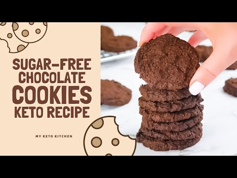 How To Make Keto Chocolate Cookies (Easy Low-Carb Recipe)