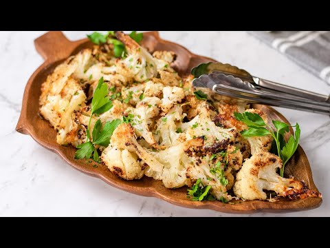 Keto Roast Cauliflower Recipe - Super Easy, Low Carb & Very Healthy & Delicious