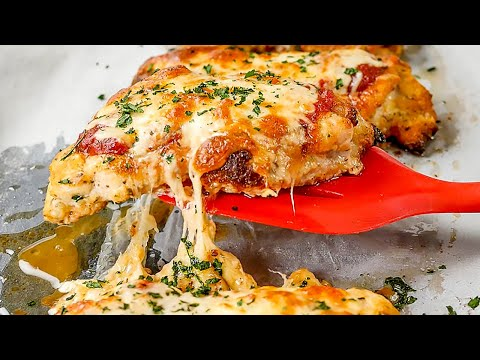 Keto Chicken Parmigiana Recipe - Low Carb Cheesy & Saucy - Very Easy to Make (2g Net Carbs)