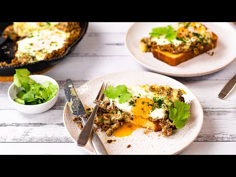Eggs & Ground Beef Recipe - Keto, Paleo & Carnivore & Easy to Make for Breakfast, Lunch or Dinner!