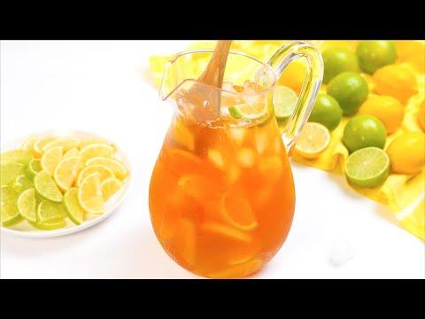 Sugar Free Iced Tea Recipe - ZERO carbs & Keto Friendly (Alkaline with Lemon)