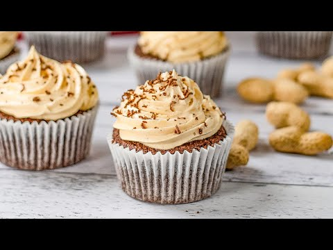 Keto Chocolate Peanut Butter Cupcakes Recipe - Low Carb & Super Tasty (Just 3g Net Carbs)