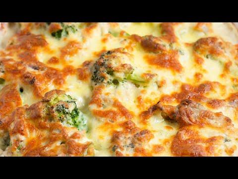 """Keto Recipe - Broccoli Chicken & Cheese Casserole """"Super Cheesy, Tasty & Nutritious"""""""