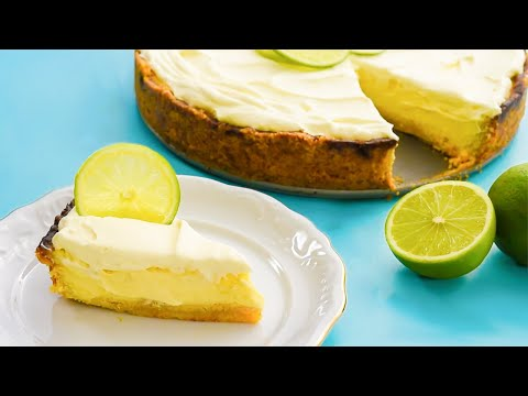 Keto Key Lime Pie Recipe - The BEST Low-Carb Sugar Free Version Around (Delicious)