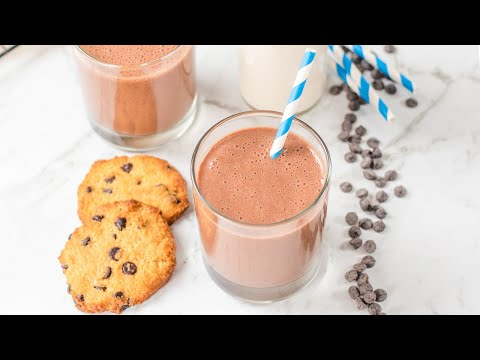 Keto Chocolate Milk Recipe - Low Carb, Healthy & Delicious Fat Burning Drink (Easy to Make)