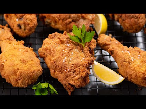 Keto Spicy Chicken Recipe - Low Carb Deep Fried KFC Alternative (2g Carbs)