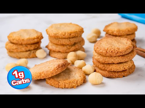 Keto Recipe - Macadamia Nut Cookies - Easy To Make, Delicious Low Carb Cookie (1g Carbs)