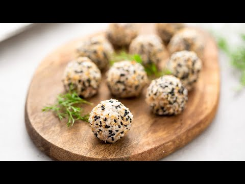 """Keto Bagel Fat Bombs Recipe - Tasty Low-Carb Savory """"No-Bake"""" Snack (Easy)"""