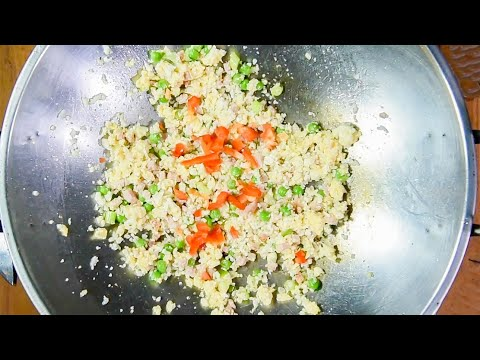 """Keto Recipe - Cauliflower Fried Rice with """"Delicious Asian Flavors"""""""