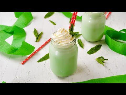 "Keto Mint Shamrock Shake Recipe - Tasty Low-Carb Milkshake - ""2g Net Carbs"" - (Easy)"