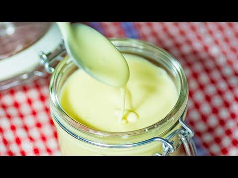 Sugar-Free Sweetened Condensed Milk - Keto Recipe - 3 Ingredients (Easy)