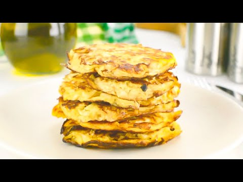 Keto Hash Browns with Cabbage Low-Carb Recipe - Yummy Breakfast (Easy)