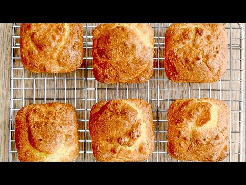 Keto Bread Recipe - Dinner Rolls (Perfect Side for Low-Carb Soup & Main Meals)