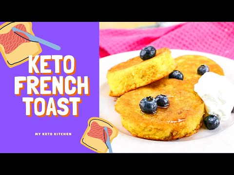 Keto French Toast Recipe - Easy & Delicious (3g Carbs)