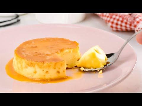 """Keto Flan Recipe - """"Sugar Free Creme Caramel"""" - Tasty Low Carb Dessert (2g Net Carbs)"""
