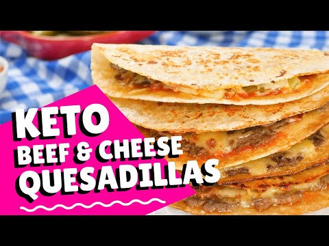 How To Make Keto Quesadillas - Easy Recipe in 5 Minutes (3g Carbs)