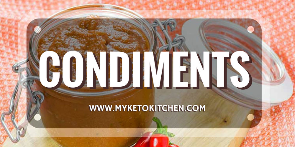 Condiments for a low carb christmas