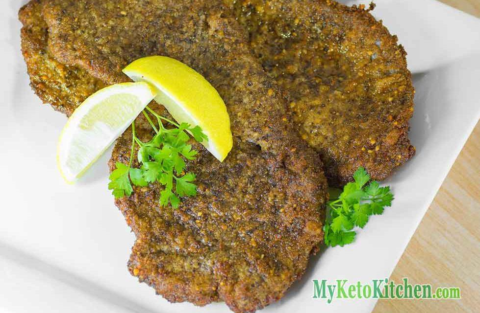 Low Carb Beef Schnitzels Recipe – Crunchy & Juicy