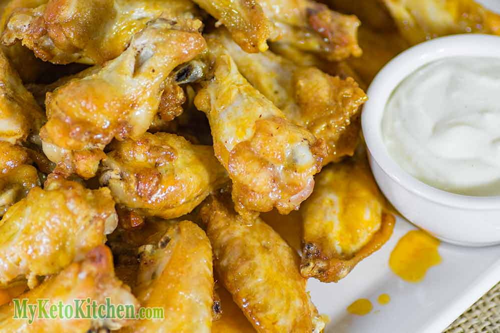 how to cook buffalo wings in a deep fryer
