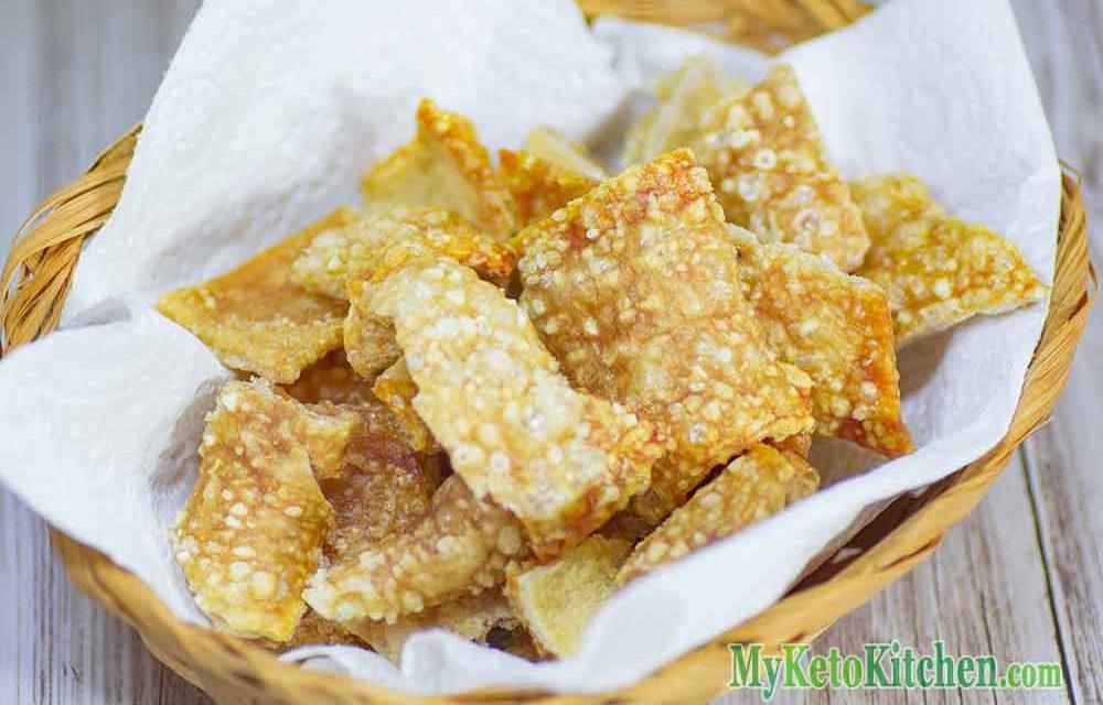 "Keto Pork Rinds ""EASY"" Crackle Chips Recipe – ZERO Carb!"