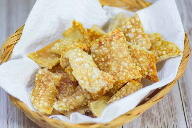 Keto Pork Rinds Quot Easy Quot Crackle Chips Recipe Zero Carb