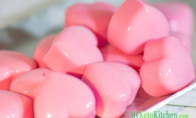 Low Carb Ketogenic Raspberry Cream Fat Bombs