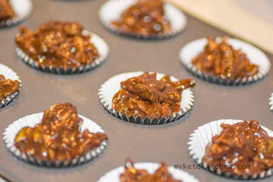 Keto Chocolate Nut Cups