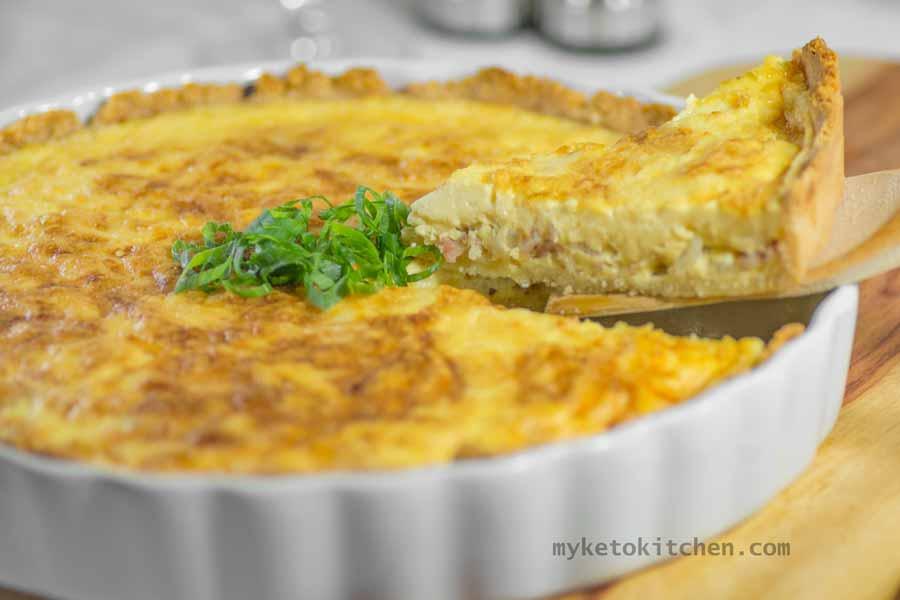 Low Carb Quiche Lorraine | My Keto Kitchen
