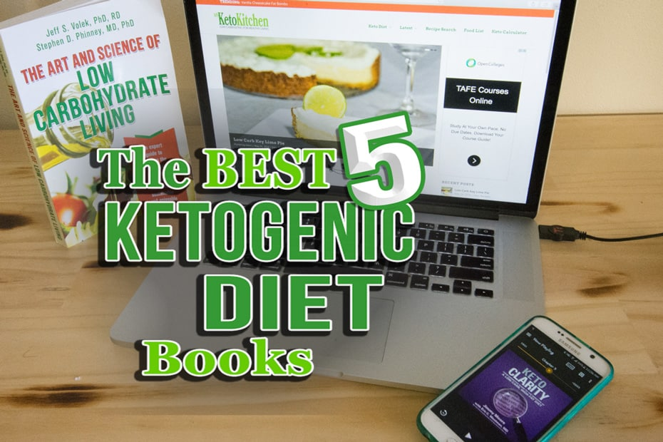 The Best 5 Ketogenic Diet LCHF Books Everyone should read