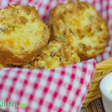 Low Carb Bacon & Sour Cream Muffins Ketogenic Breakfast Ideas