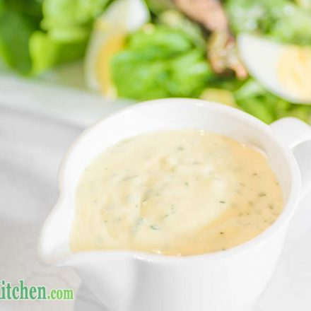 Low Carb Caesar Salad Dressing