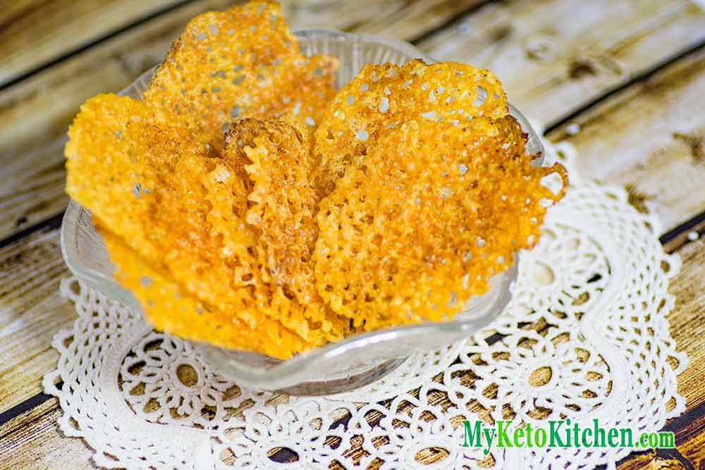 Keto Cheese Crisps / Chips Recipe – An Easy Low Carb Snack to Make