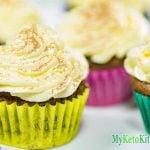 Keto Cupcakes Recipe – Low Carb Chocolate Cream