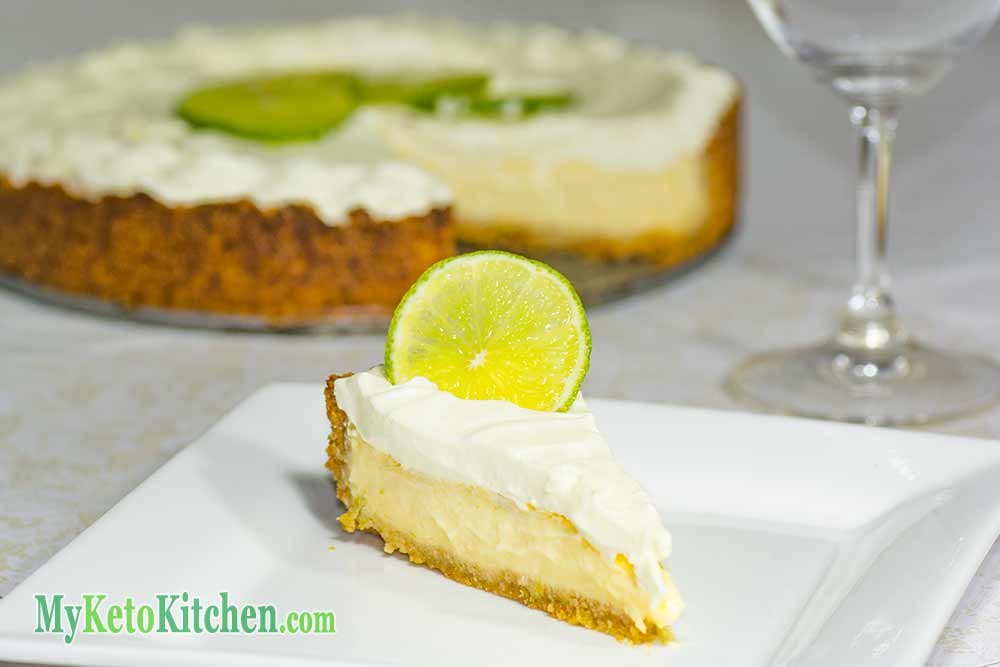 Keto Key Lime Pie Recipe - Easy Low Carb & Sugar Free
