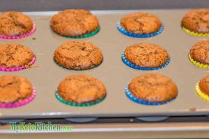 Low Carb Chocolate Cupcakes Step 6