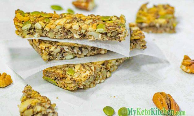 "Keto Granola Bar ""Secret"" Recipe – A Super Healthy All Day Energy Snack"