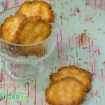 Keto Coconut Wafer Cookies