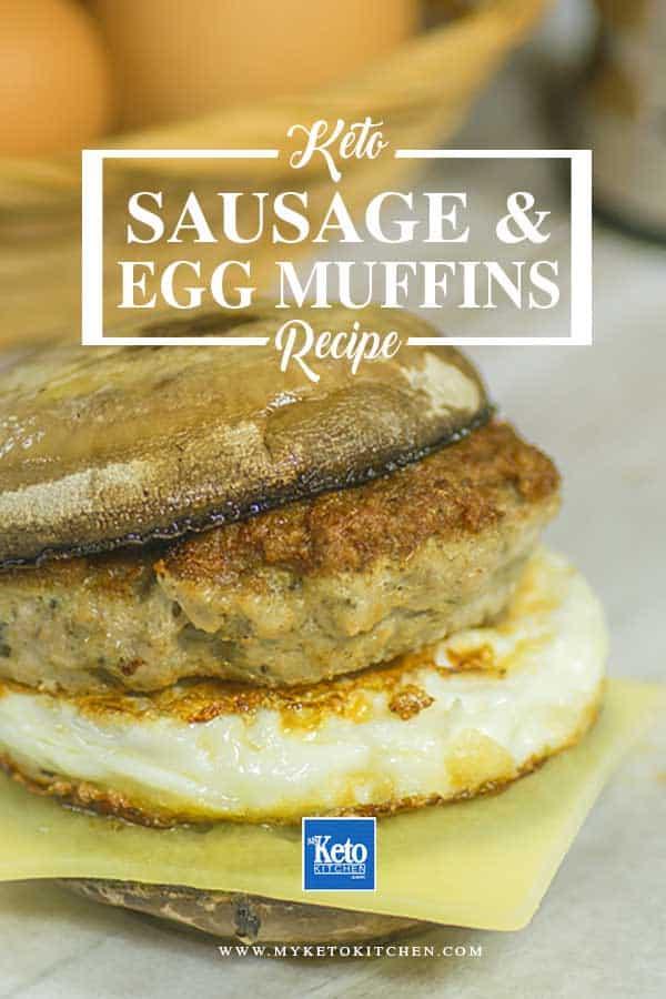 Keto Sausage & Egg Muffins