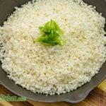 Easy Low Carb Cauliflower Rice Recipe