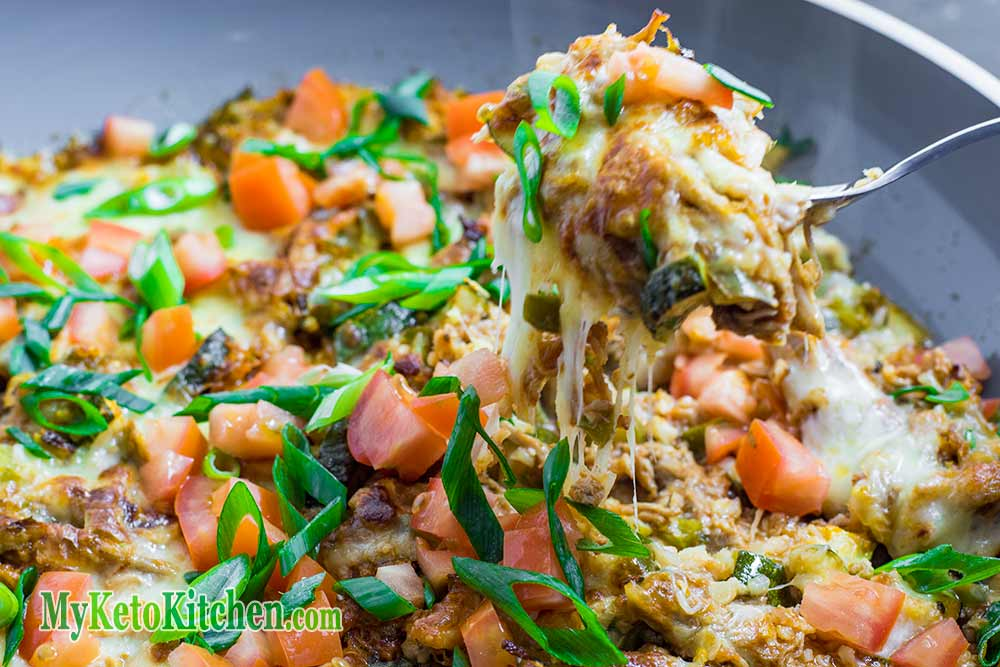 Easy Low Carb One Pot Mexican Casserole Step By Step Recipe