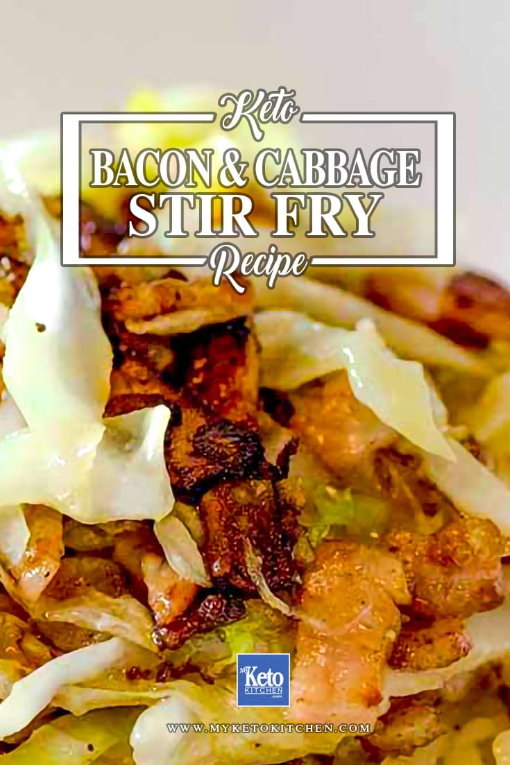 Keto Bacon and Cabbage Stir Fry Recipe