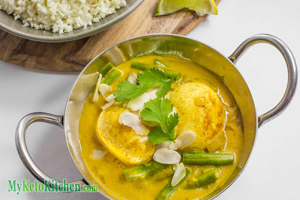 Keto Egg Curry Recipe