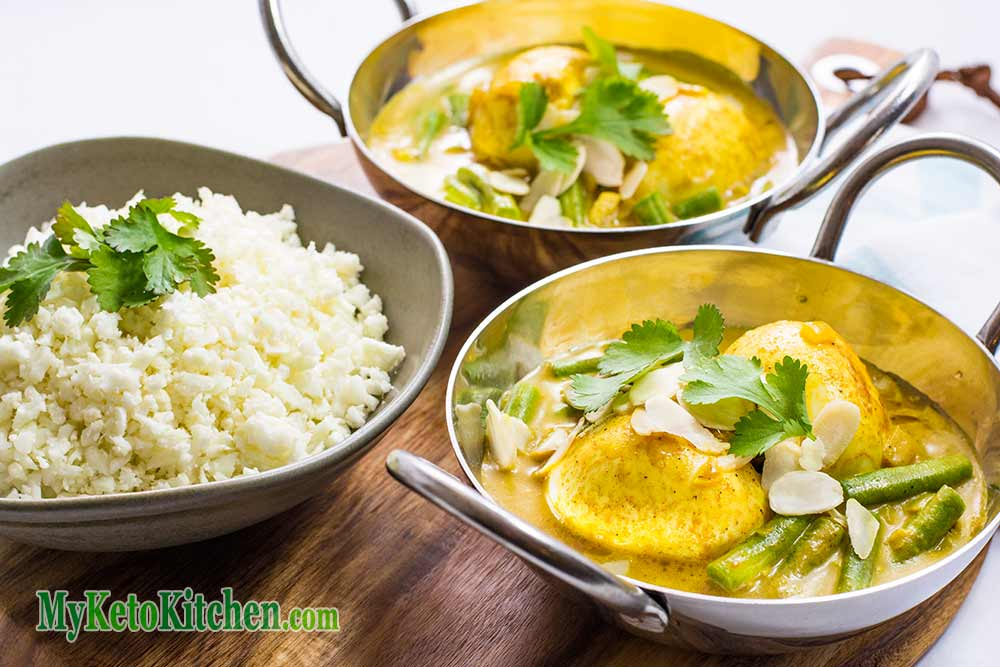 Keto Indian Boiled Egg Curry