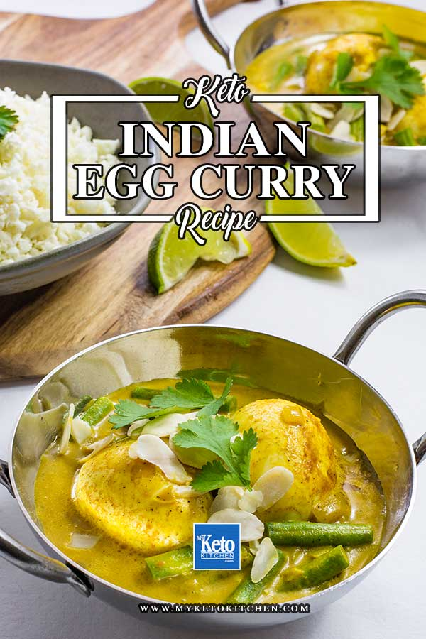 Keto Indian Egg Curry Recipe