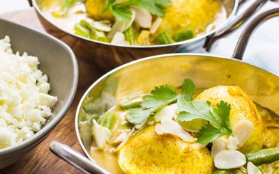 """Low Carb Indian Boiled Egg Curry """"Keto & Vegetarian"""""""