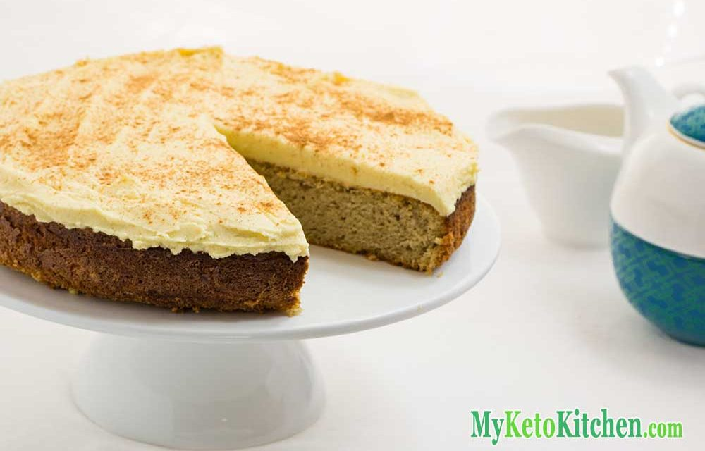 Keto Cake Recipe – Cinnamon and Nutmeg – Moist & Sweet!