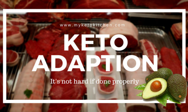 Keto Adapted or Adaption on a Ketogenic Diet