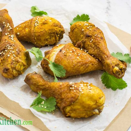Low Carb Indonesian Chicken Drumsticks Recipe