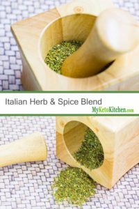 Italian Herb & Spice Blend (Gluten Free, Keto, Low Carb, Vegan)